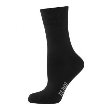 Elbeo Socken Pure Cotton Women schwarz