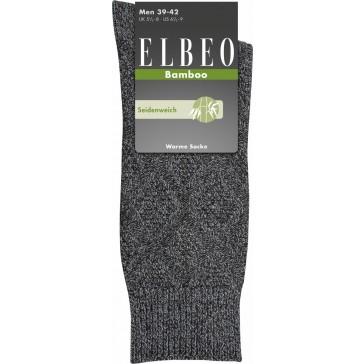 Elbeo Socken Bamboo warm Men grau