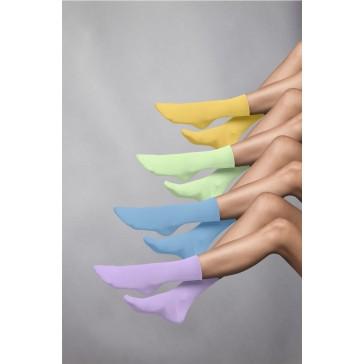 Elbeo Rollbund Socken Light Cotton Women