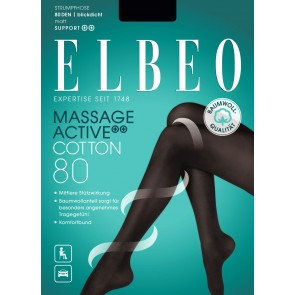 Elbeo Strumpfhose Massage Active Cotton 80