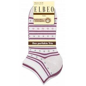 Elbeo Sneaker Cotton / 3er Pack Women