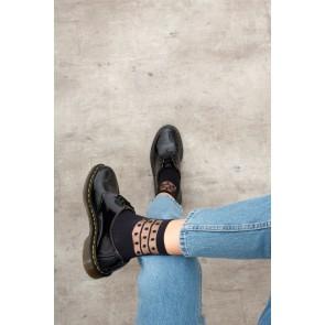 Elbeo Socke Dots und Stripes schwarz