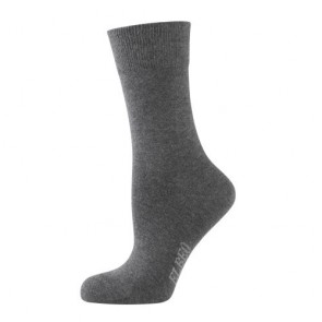 Elbeo Socken Pure Cotton Women anthrazit mel.